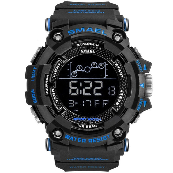 Mens Watch Military Water resistant SMAEL Sport watch - DealsNode