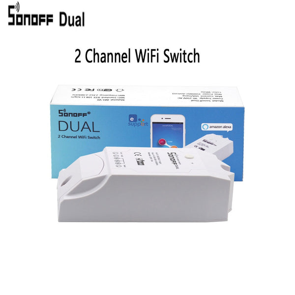 Itead Sonoff Smart Remote Control Wifi Switch Diy Timer Wireless Switch,Sonoff S20 EU Smart WiFi Socket,Smart Home 10A/2200W - DealsNode