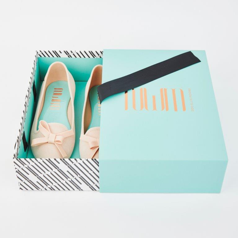 Tantalising Theia - ZEM FLAT SHOE - Signature Collection