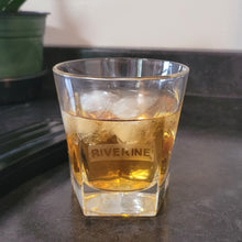 Load image into Gallery viewer, Riverine Etched Whiskey Glass - Metalhead by design