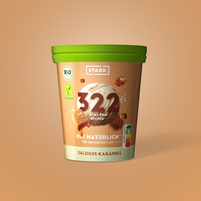 Salziges Karamell Eis 400 ml / 240 g