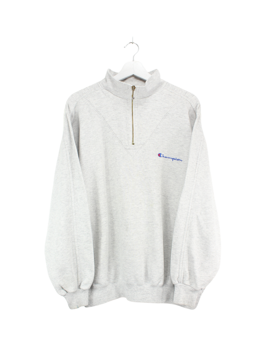 Champion Zip Sweater Grau XL