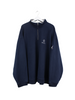 Nautica Zip Sweater Blau 3XL