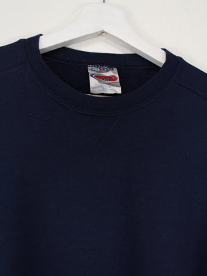 Jerzees Basic Sweater Blau L