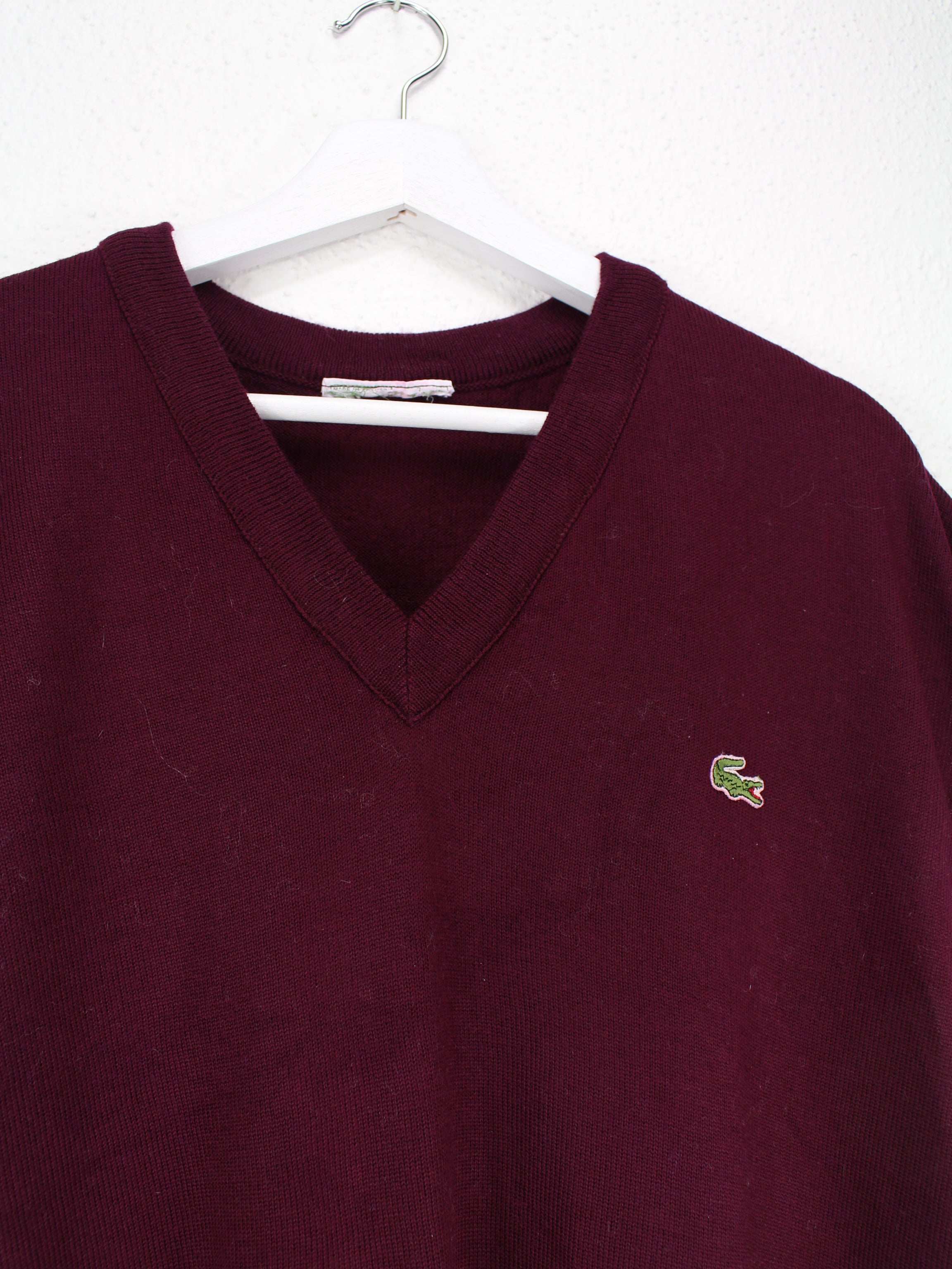 Lacoste Pullunder Rot XL