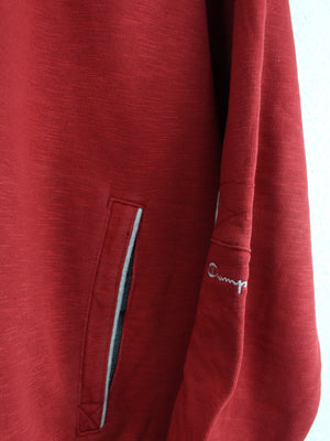 Champion Sweatjacke Rot M