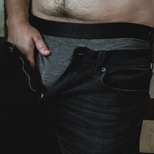 Load image into Gallery viewer, rodeoh truhk brief packing underwear for jimmy stp prosthetic for ftm trans men with model