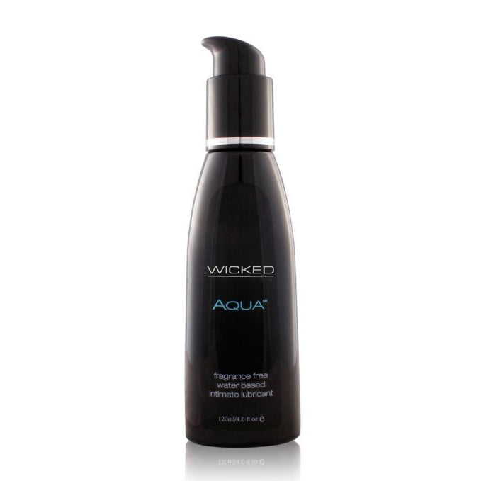 wicked aqua water based lubricant 4 fl oz