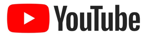 Youtube logo bottom to our youtube page