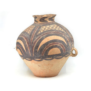 A Chinese Neolithic Pottery Jar, Gansu Yangshao Neolithic Period, ca. 3500 - 2500 BCE - Sands of Time Ancient Art