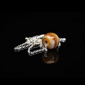 A Near Eastern Agate Bead Necklace, ca. mid 1st millennium BCE - Sands of Time Ancient Art