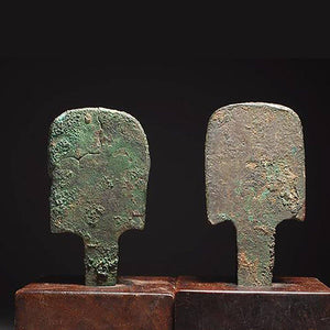 A pair of Chariot Linch Pins, Western Zhou Dynasty, 1046–771 BCE - Sands of Time Ancient Art