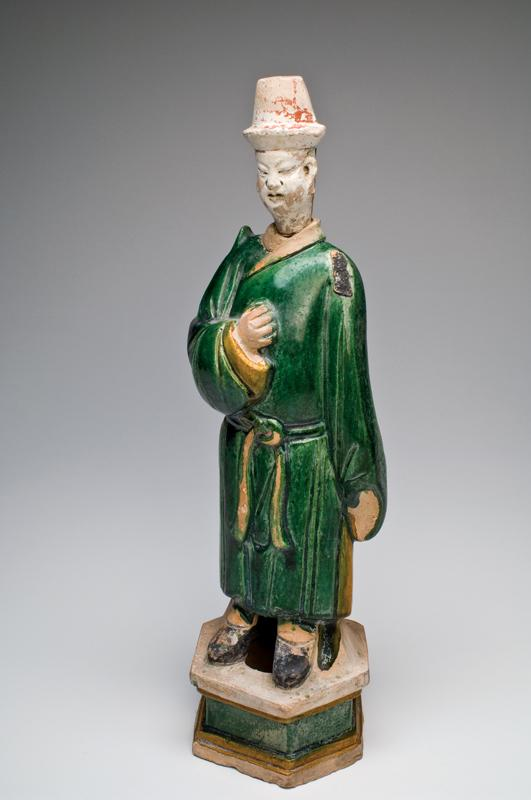 A large Chinese Sancai-Glazed Tomb Figure, Ming Dynasty, ca 1368-1644 CE - Sands of Time Ancient Art