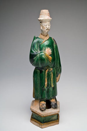 A large Chinese Sancai-Glazed Tomb Figure, Ming Dynasty, ca 1368-1644 AD - Sands of Time Ancient Art