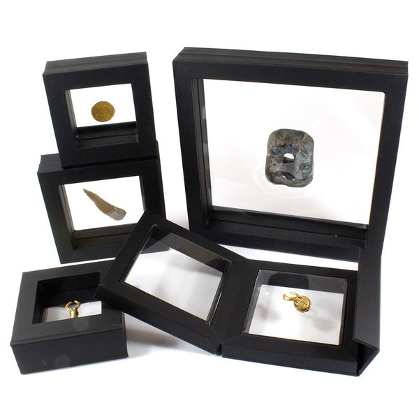 HIGH QUALITY DISPLAY BOX FOR AMULETS, JEWELRY, SEALS, SCARABS, INTAGLIOS ETC