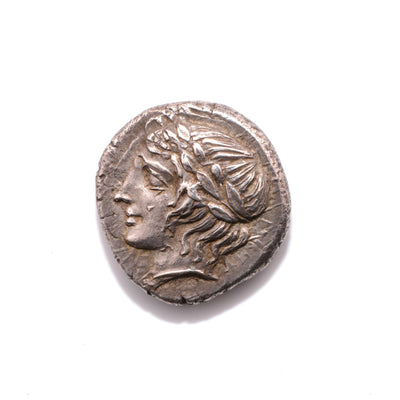 * Illyro-Paeonian Region, Damastion AR Tetradrachm, ca. 395 - 380 BC - Sands of Time Ancient Art