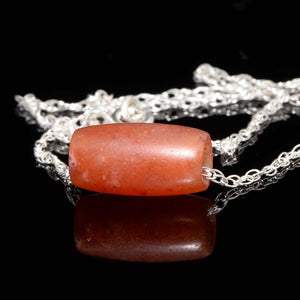 A Roman Carnelian Bead Pendant, ca. 1st century CE - Sands of Time Ancient Art