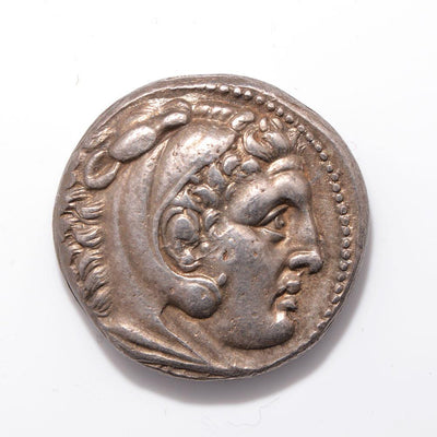 A Greek AR Tetradrachm of Alexander the Great, Hellenistic Period, ca. 2nd century BC