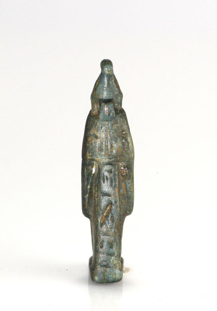An Egyptian Stone Amulet of the Goddess Mut, 25th Dynasty, ca. 722-625 BC