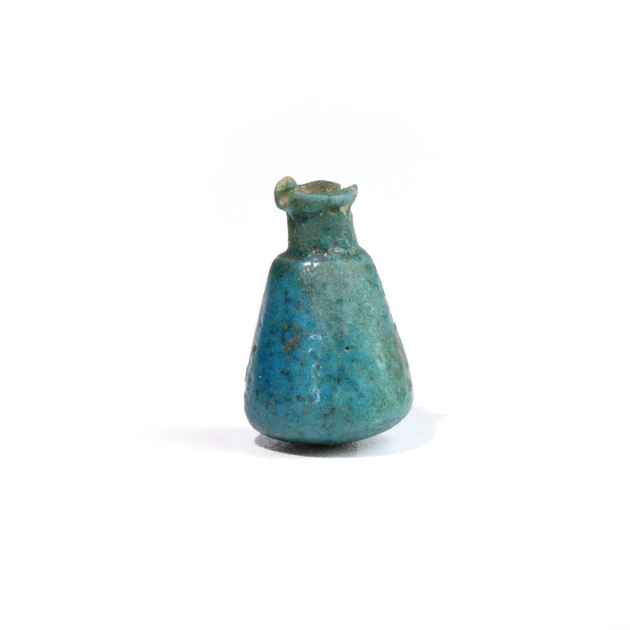 * An Egyptian Faience Ritual Model Situla, 3rd Intermediate Period, ca. 1069 - 665 B.C. - Sands of Time Ancient Art