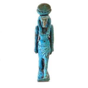 * An Egyptian Faience Amulet of Thoth, 21st Dynasty, ca. 1069 - 945 BC - Sands of Time Ancient Art