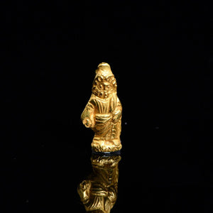 An Egyptian Gold Amulet of Zeus Serapis, Roman Imperial Period, ca. 1st Century CE