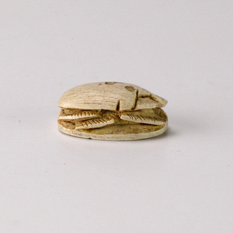 * An Egyptian Hyksos Steatite Design Scarab, 13th Dynasty, ca 1783-1779 B.C. - Sands of Time Ancient Art