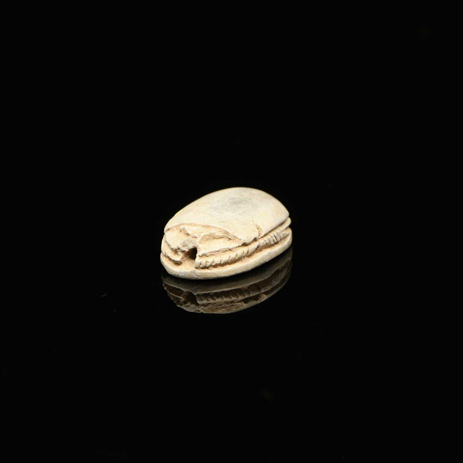 An Egyptian Steatite Scarab, Second Intermediate Period, ca. 1759 - 1539 BCE - Sands of Time Ancient Art