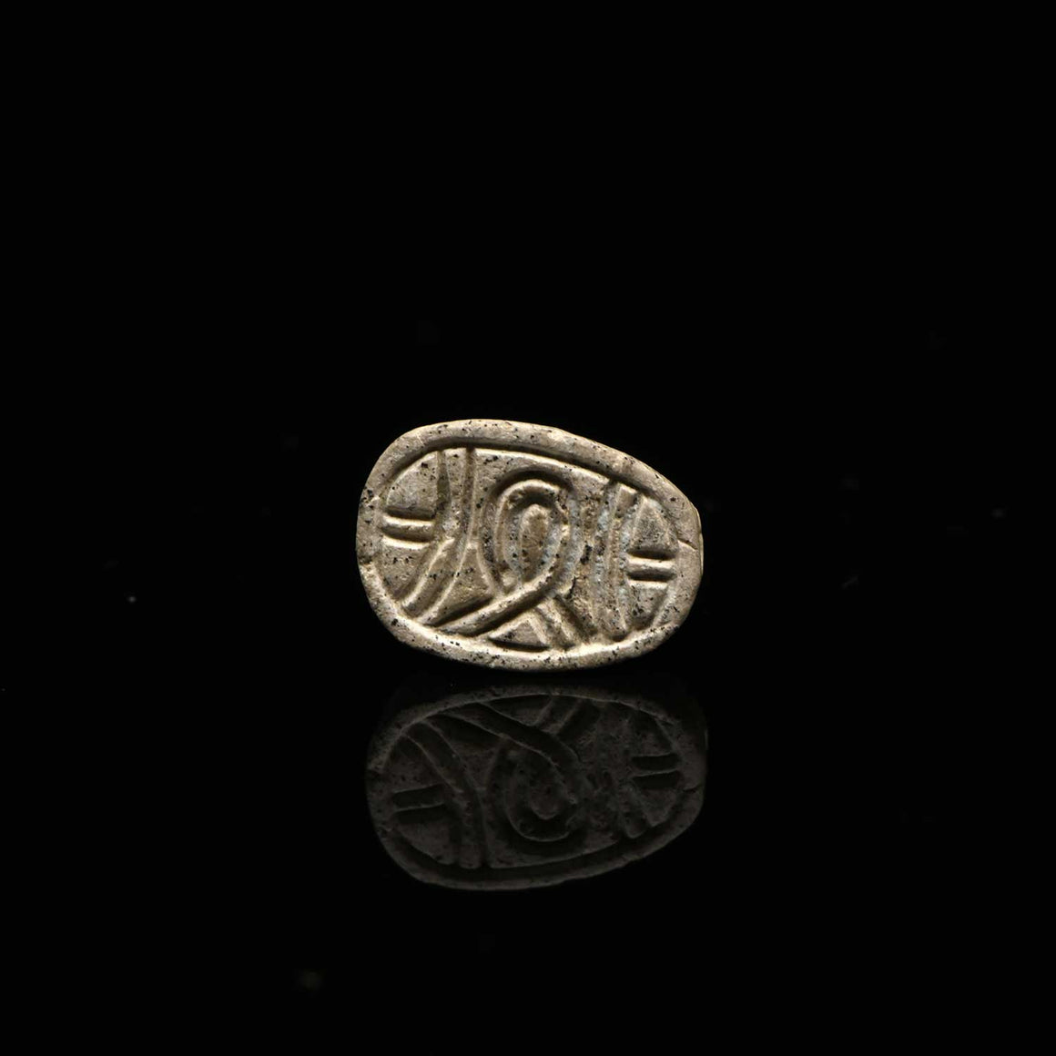 * An Egyptian Steatite Design Scarab, Middle Kingdom, ca. 11th - 17th Dynasty