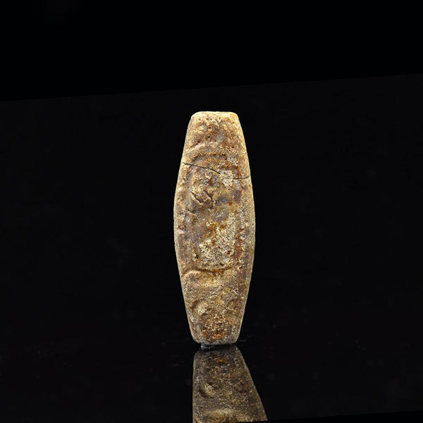 An Egyptian Faience Royal Name Bead for Shabaka, 25th Dynasty, ca. 705 - 690 BCE