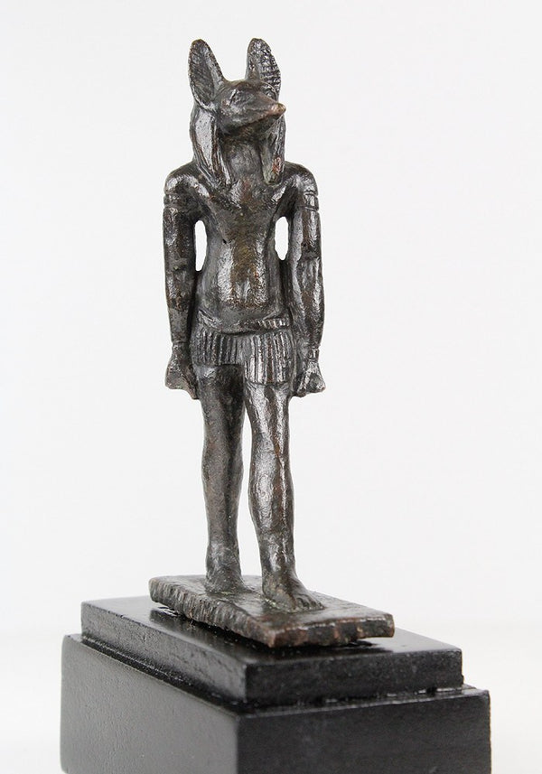 An Egyptian Bronze Figure of Anubis, 26th Dynasty, ca 664-525 BC - Sands of Time Ancient Art