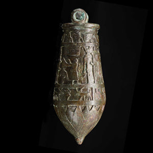 * An Egyptian Bronze Situla, 26th Dynasty, ca. 664 - 525 BCE - Sands of Time Ancient Art