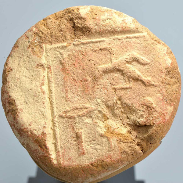 An Egyptian Clay Funerary Cone for the Scribe Paeriy, 18th dynasty, ca. 1550-1295 BC - Sands of Time Ancient Art
