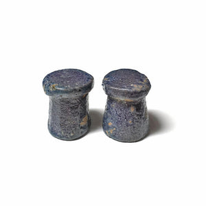 A Pair of Egyptian Faience Gaming Pieces, Amarna Period, ca 1352-1336 BC - Sands of Time Ancient Art