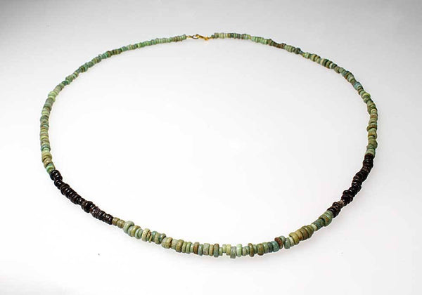 An Egyptian faience mummy bead Necklace, ca. 664 - 332 BC