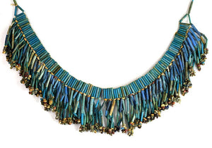 An Egyptian Broad Collar Faience Necklace, Late Period, ca 664-332 BC - Sands of Time Ancient Art