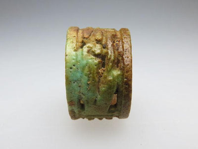 An Egyptian Faience Openwork Ring, 21st Dynasty, ca. 1069-945 BC - Sands of Time Ancient Art