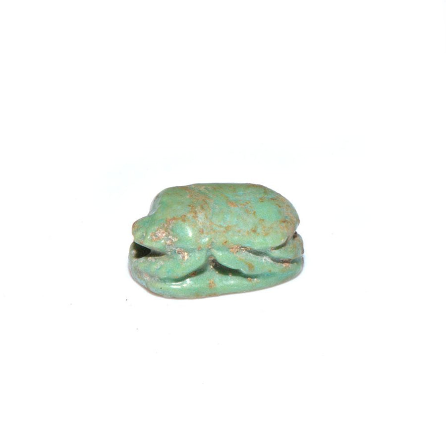 * An Egyptian Feldspar Scarab, Middle Kingdom, ca 2000 - 1730 BC