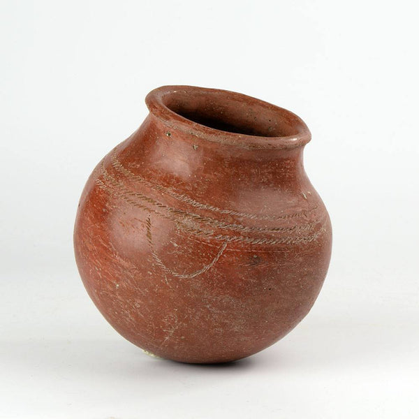 An Egyptian Decorated Redware Jar, PreDynastic Period, ca. 3200 - 3100 B.C. - Sands of Time Ancient Art