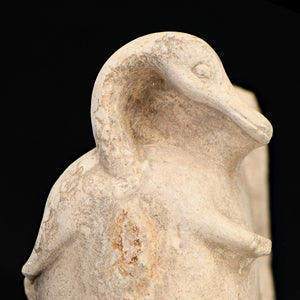A Trussed Duck Limestone Votive Sculpture, 18th Dynasty, ca. 1550 - 1362 BCE - Sands of Time Ancient Art