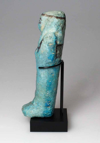 An Egyptian Faience Shabti for Nesankhefmaat, 21st Dynasty, ca. 1080 – 945 B.C. - Sands of Time Ancient Art