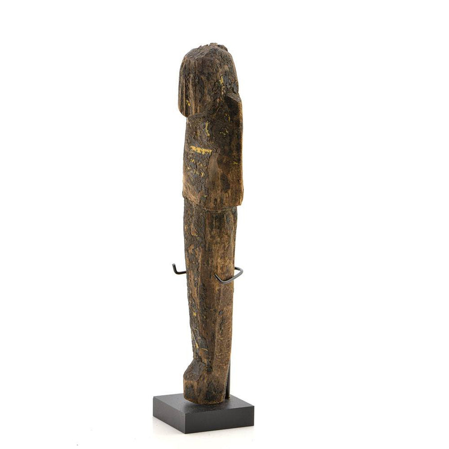 A large Egyptian Wood and Resin Shabti, 20th Dynasty, ca. 1187-1069 BC - Sands of Time Ancient Art
