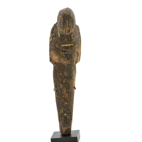 A large Egyptian Wood and Resin Shabti, 20th Dynasty, ca. 1187-1069BC - Sands of Time Ancient Art