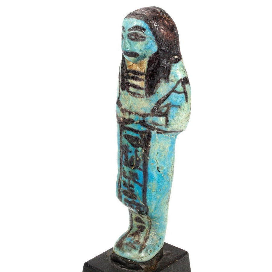 * An Overseer Shabti for the Songstress of Amun, Ta-udjat-re, 19th Dynasty,  ca. 1069 - 945 BC