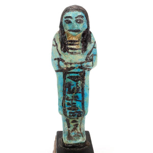 * An Overseer Shabti for the Songstress of Amun, Ta-udjat-re, 19th Dynasty,  ca. 1069 - 945 BC - Sands of Time Ancient Art