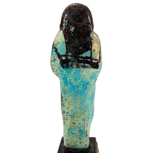 An Overseer Shabti for the Songstress of Amun, Ta-udjat-re, 19th Dynasty,  ca. 1069 - 945 BCE - Sands of Time Ancient Art