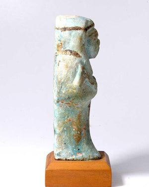 An Egyptian Faience Shabti for Imintet, 21st Dynasty ca 1069-945 BC - Sands of Time Ancient Art