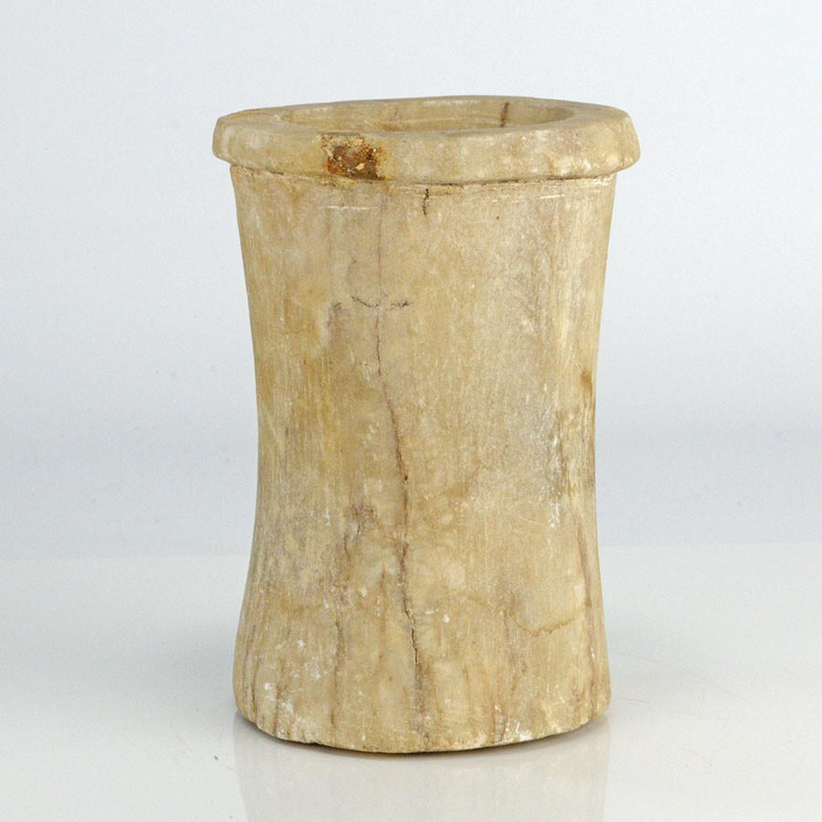 An Egyptian Calcite Cylinder Jar, Old Kingdom, ca. 2543-2120 BC