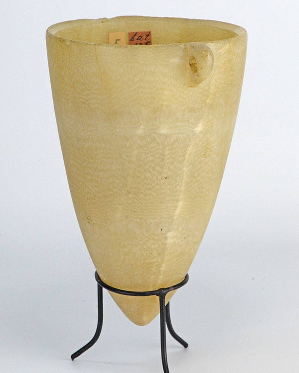 An Egyptian Alabaster Vessel, New Kingdom, ca. 1539-1077 BC - Sands of Time Ancient Art