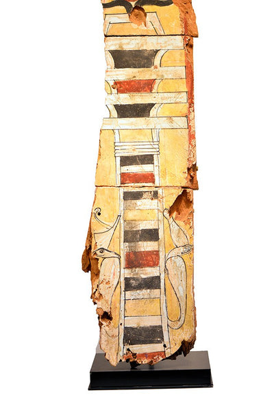 A large Egyptian Wood Sarcophagus Fragment, Late Period, ca 664-332 BC - Sands of Time Ancient Art